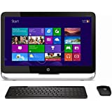 HP Pavilion 23-b030ea Touchscreen All-In-One Desktop PC (Intel® CoreTM i5-4590T Processor (2 GHz, 3 GHz with TurboBoost, 6 MB cache), 8GB RAM, 1TB HDD, Integrated 720p Webcam, DVD-RAM DVD/RW with double layer support, Windows 8.1) - with 23 inch monitor