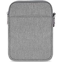 MoKo 6-Pulgadas Funda de Fieltro - Portátil Sleeve Bag Nilón Maletín Case para Amazon Kindle 10th Generation 2019 / All-New Kindle (8th Generation, 2016) / 6 Inch Kindle Oasis E-Reader, Gris Claro