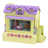 Mattel Pixel Chix H8330 Cottage House - Yellow & Purple