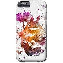 """iPhone 6/6s Arte de Fan Estuche de Silicona / Cubierta de Gel para Apple iPhone 6S 6 (4.7"""") / Protector de Pantalla y Paño / iCHOOSE / Totoro"""