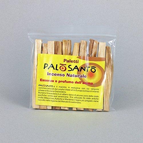 Incienso Natural Palo Santo - Paquete de 10 barritas