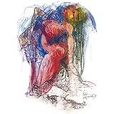"DIBUJO AL PASTEL: ""Marea última"". Dibujo sobre papel. Técnica: pastel. Obra única. Formato: 64 x 45 cm."
