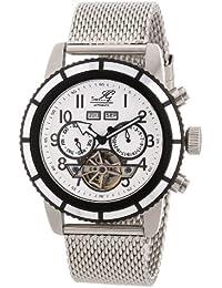 Ingraham Herren-Armbanduhr XL Portland Analog Automatik Edelstahl IG PORT.1.221173