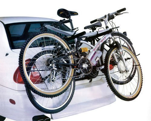 CAR CYCLE CARRIER 2 BICYCLE BIKE RACK UNIVERSAL FITTING SALOON HATCHBACK ESTATE