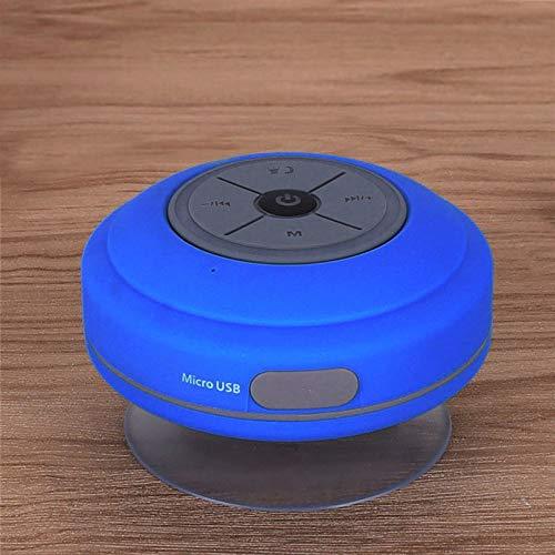 Speaker Bluetooth ventosa grande bagno impermeabile a mani libere Bluetooth altoparlante dell'automobile piccolo altoparlanteQ9 blu