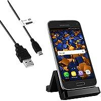 mumbi USB Dock für Samsung Galaxy S5 Mini Dockingstation / Ladestation + USB Datenkabel