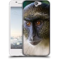Super Galaxy Soft Flexible TPU Slim Fit Cover Case // V00003899 sykes monkey mount kenya // HTC One A9 (Not Fit M9)