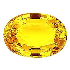 S KUMAR GEMS & JEWELS 10.25 Ratti Certified Yellow Topaz Natural Gemstone
