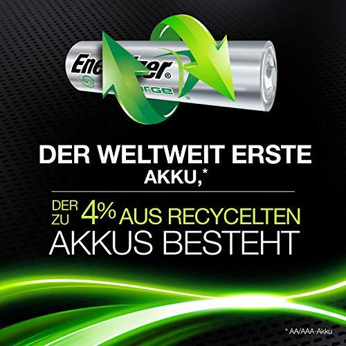 Energizer Akkus AA, Recharge Power Plus, 4 Stück