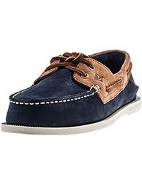Sperry Top-Sider Hombre A/O Zapatos para Barcos de 2 Ojos, Azul