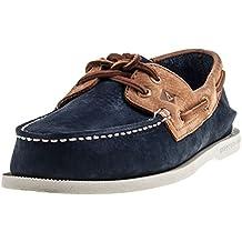 Sperry Top-Sider Hombre A / O Zapatos para barcos de 2 ojos, Azul