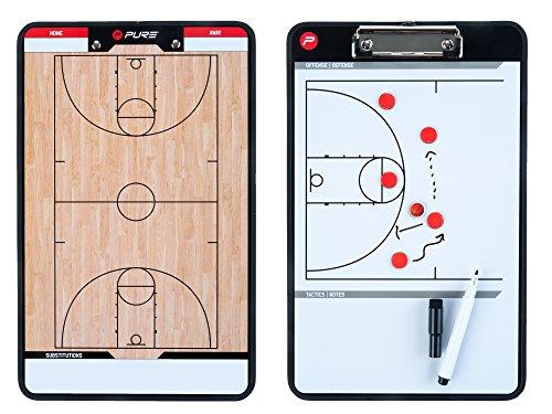 Pure 2Improve Taktiktafel Basketball, 35x22cm (Basketball Coaching-board)