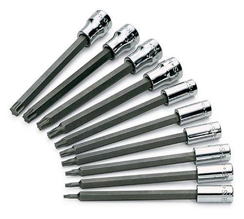 Super-torx Bit Socket (SK Punkte Handwerkzeuge und Streifenmuster 101/4-Zoll und 3/8-Antrieb Lange Torx Bit Socket Set)