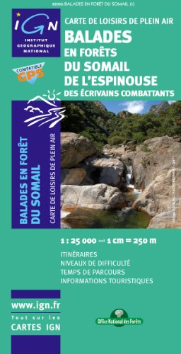 Somail/Epinousse/Caroux Balades en Foret: IGN82096 par IGN