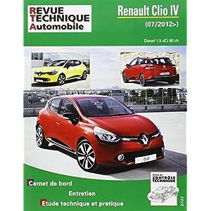 Revue Technique b783 Renault Clio IV 2012-07