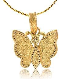 Senco Gold 22k (916) Yellow Gold Pendant for Women