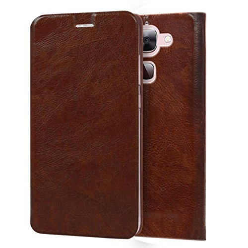 CareFone LeEco Le 2 Flip Cover / Premium Luxury Slim PU Leather Case for LeEco Le 2 / Flip Cover Case for LeEco Le 2 - Brown