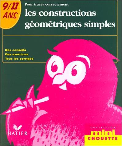 Pour tracer correctement les constructions géométriques simples 9-11 ans