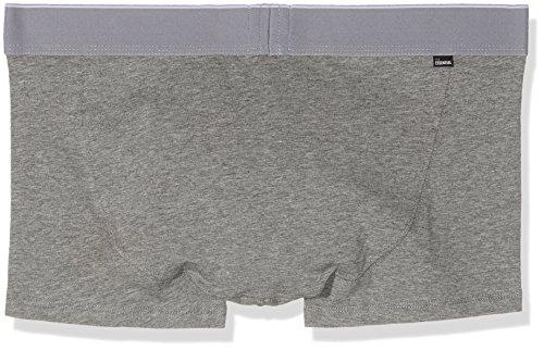 Diesel Herren Boxershorts Grau (Dark Grey Melange 96X)