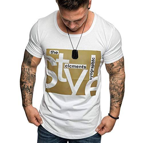 Saihui-- Herren Tops,T-Shirts & Hemden