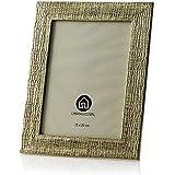 Portafotos dorado (20.6x1.2x25.6 cm)