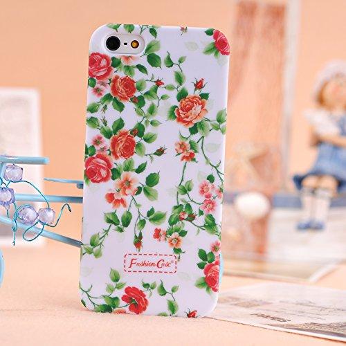 apple-iphone-5s-5se-case-wkaer-fashion-small-fresh-flowers-series-plastic-hard-back-case-beauty-flor