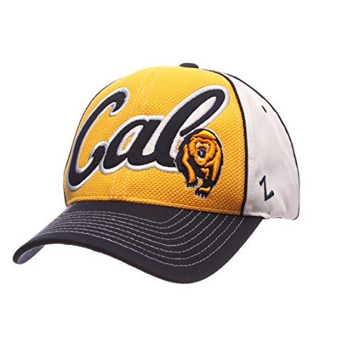 Zephyr Cal Berkeley Golden Bears Aufstand Curved Bill Cap-NCAA eine Größe verstellbar Klettverschluss Baseball Hat Cal Berkeley Bears