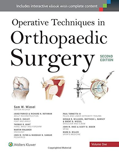 Operative Techniques in Orthopaedic Surgery (4 Volume Set)