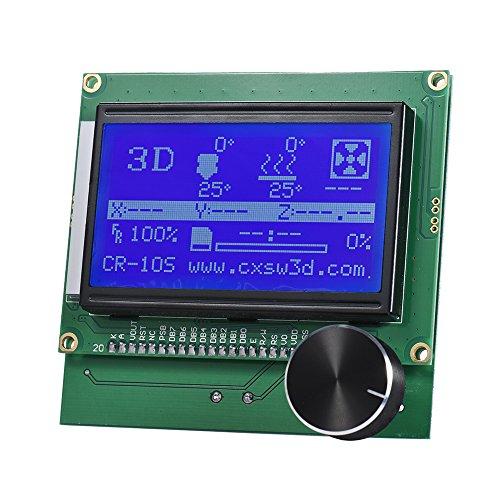 Generic 2004 LCD Display Controller Display mit Kabel für Reprap Ramps 1.4 3D Drucker Kit Zubehör für Creality CR-10S Lcd-kabel-kit