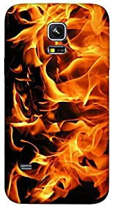 Timpax protective Armor Hard Bumper Back Case Cover. Multicolor printed on 3 Dimensional case with latest & finest graphic design art. Compatible with Samsung Galaxy S-5-Mini Design No : TDZ-26316