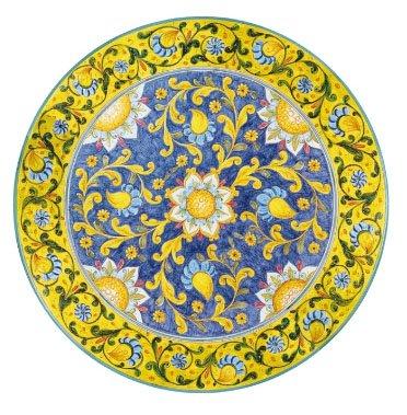 Tavoli Da Giardino Pietra Lavica.Dafnedesign Tavolo Da Giardino In Pietra Vulcanica Diametro 60 Cm