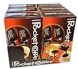 Pocket Coffee, 6 paquets de 18 pièces