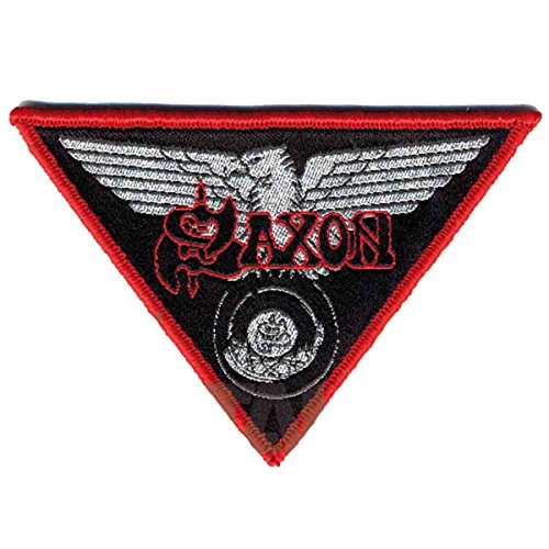 Saxon Wheels Of Steel Sew On Patch