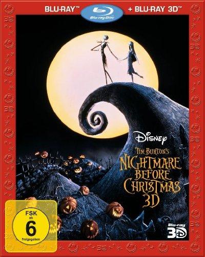 Nightmare before Christmas (+ Blu-ray) [Blu-ray 3D]