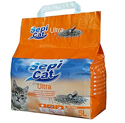 Sepicat Ultra Clumping Cat Litter, 5 l