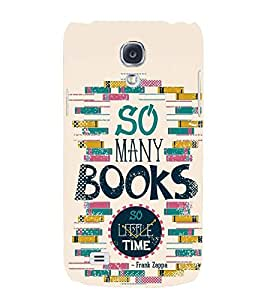 printtech Books Back Case Cover for Samsung Galaxy S4::Samsung Galaxy S4 i9500