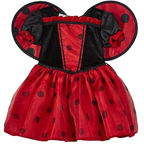 Marienkäfer Baby Mädchen Fasching Halloween Karneval Kostüm Kleid 3-6 Monate (62/68)