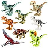 L'élément est un ensemble de 8pieces Dinosaur blocs de construction en plastique ABS. Il est idéal pour les enfants jouer, étudier ou collectionneurs d'inspirer leur imagination et leur donner du plaisir en jouant. Spécification Quantité: 8 Pièces. C...
