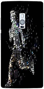 Snoogg Kevin Mitnick Ghost 2653 Solid Snap On - Back Cover All Around Protect...