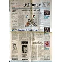 MONDE (LE) [No 17324] du 06/10/2000 - POUVOIR D'ACHAT - ISRAEL-PALESTINE, UN ESPOIR FRAGILE - DEFENSE - LE CHARLES-DE-GAULLE A TOULON - ASSURANCES A HAUTS RISQUES - DEFIE A BELGRADE, SLOBODAN MILOSEVIC EST LACHE PAR LA PRESSE OFFICIELLE PAR CHRISTOPHE CHATELOT - EDITION - 20 MILLIONS DE BEATLES - NAVETTE CENTIEME - JEAN-FRANCOIS CLERVOY - LES RAISONS DU FIASCO DE L'ATHLETISME FRANCAIS PAR PATRICIA JOLLY ET GILLES VAN KOTE - ETHIQUE - LE DILEMME DES SIAMOIS.