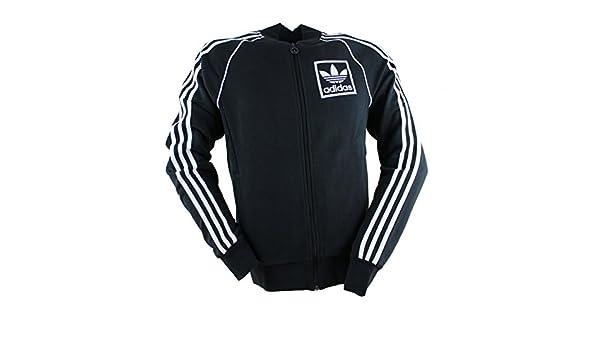 Adidas Originals 3 Foil Superstar Veste d'entraînement pour homme Noir Noir M