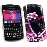 Kit Me Out FR - Coque à clipser plastique pour BlackBerry Curve 9350 / 9360 / 9370 3G - romantique