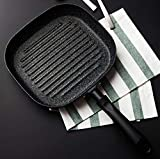 No Oil-smoke Steak Frying Pan Breakfast Frying Eggs General Use for Gas and Induction Cooker Non-Stick Pans