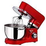 Cookmii Silencieux Robot Pâtissier, Robot Petrin, Robot mixeur, Anti-Glissement Robot Cuisine...