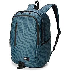 Nike Nk All Access Soleday Bkpk-AOP Mochila, Unisex Adulto, Azul (Space Blue/Black/White), MISC