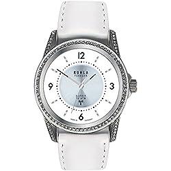 Garde' Uhren aus Ruhla Funkuhr Damenuhr mit Saphirglas FU 114-101 weiß