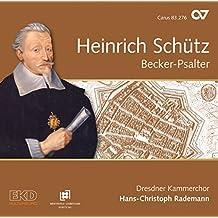 Becker Psalter, Op. 5: Der Herr sprach zu meim Herren, SWV 208