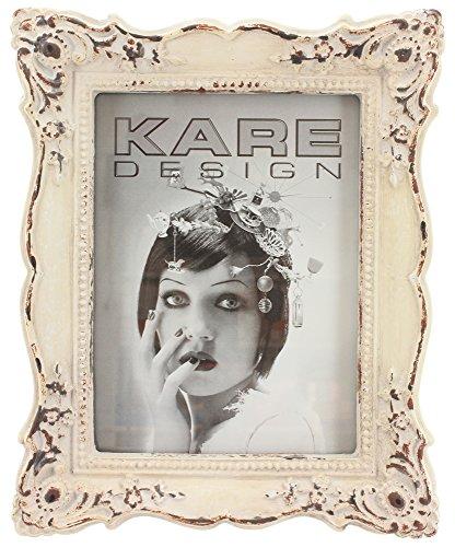 Kare Fotorahmen/Bilderrahmen Shabby BAROCK Cream