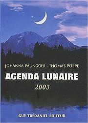 L'Agenda lunaire 2003