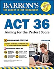 Act 36: Aiming for the Perfect Score w/1 online test: With Bonus Online Tests